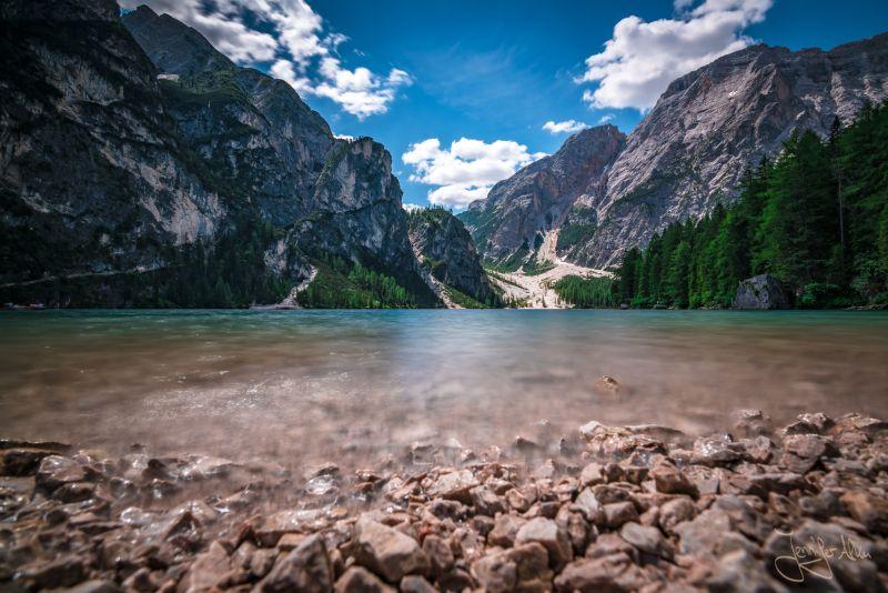 Langzeitbelichtung - Pragser Wildsee - Südtirol