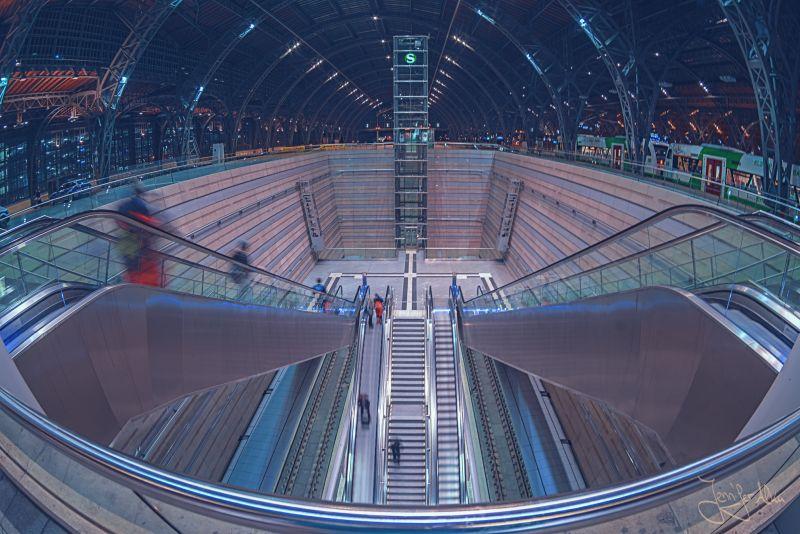 Deutschland - Leipzig - Hauptbahnhof