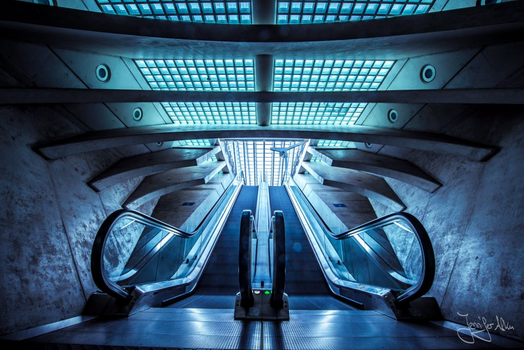 Santiago Calatrava, Bahnhof Lüttich, Bahnhof Liège-Guillemins, Belgien, Architekturfotografie,