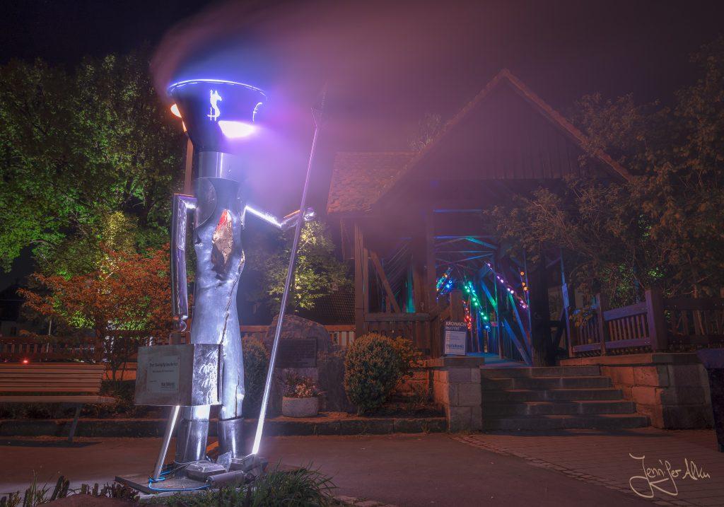 Dampfplauderer - Kronach leuchtet