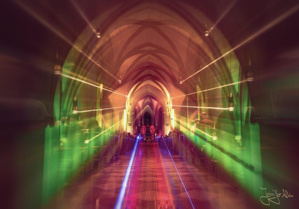 Stadtpfarrkirche St. Johannes - Kronach leuchtet 2019 - Jennifer Alka