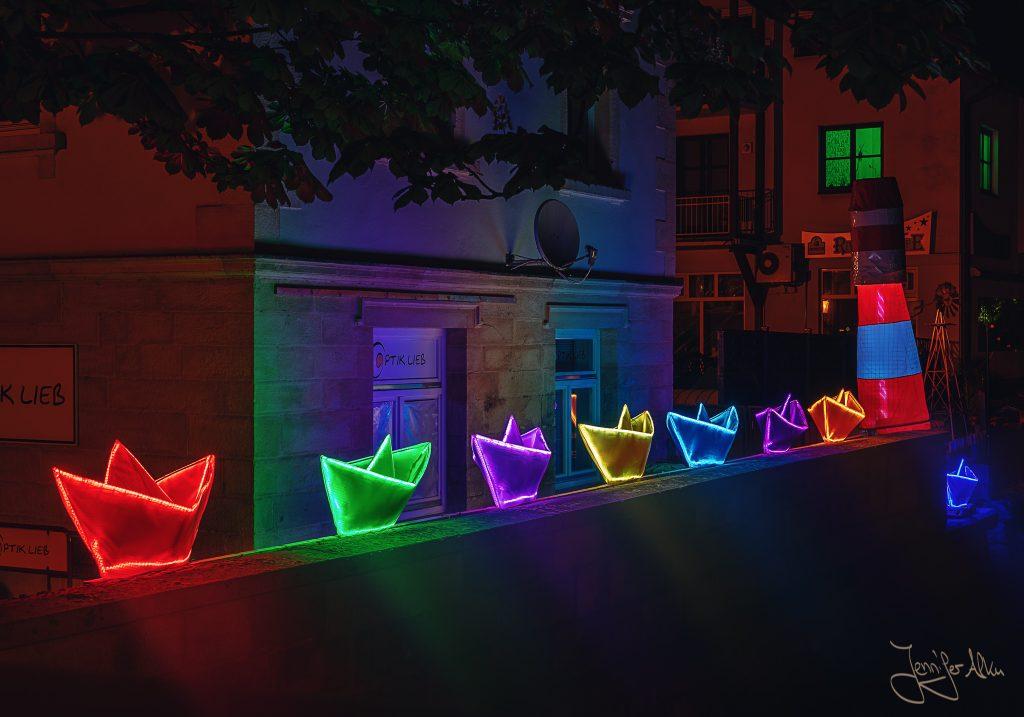 Schiff ahoi - Kronach leuchtet
