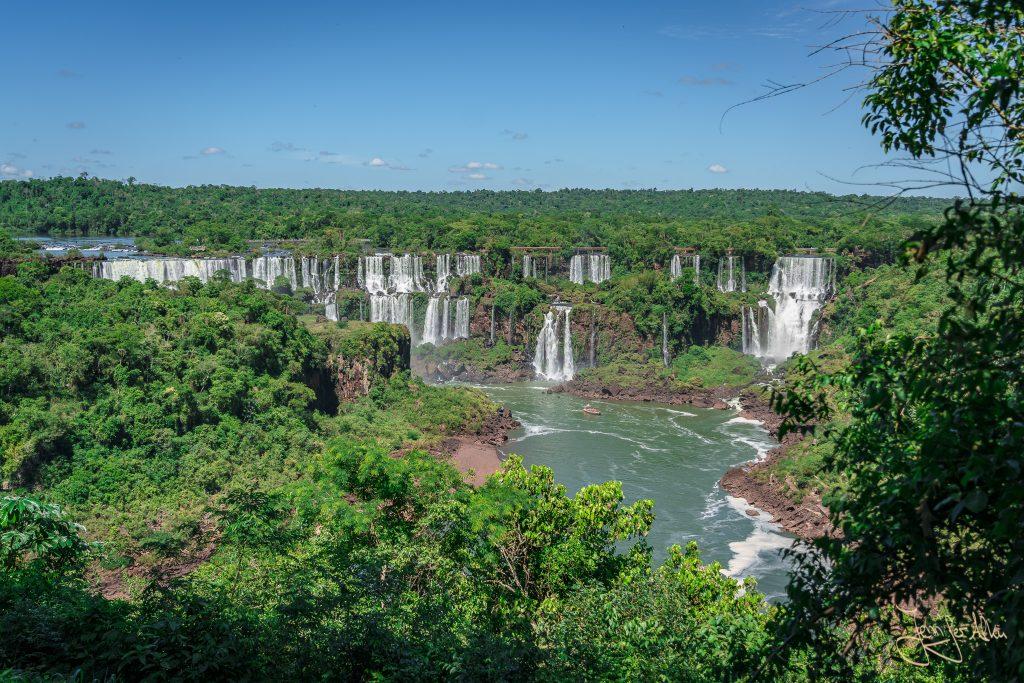 Aussicht vom Panorama-Weg im Iguaçu-Nationalpark
