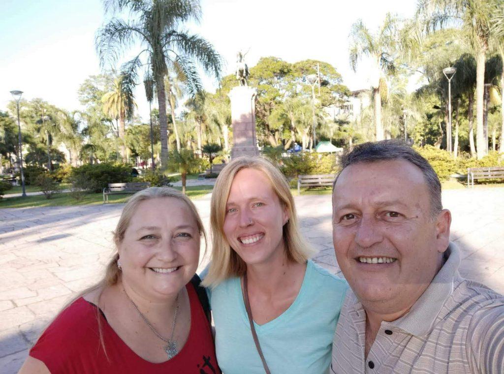 Sergio, Eleonora und ich