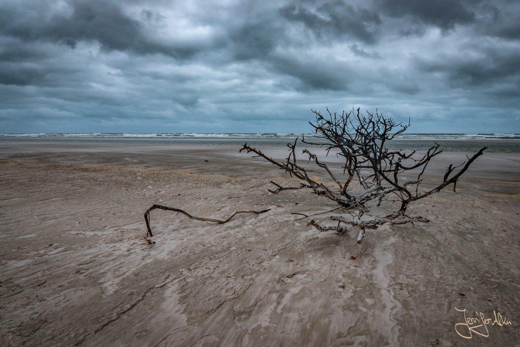 Regenwolken am Strand - Lençóis Maranhenses in Brasilien
