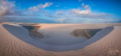 Panorama - Lençóis Maranhenses in Brasilien