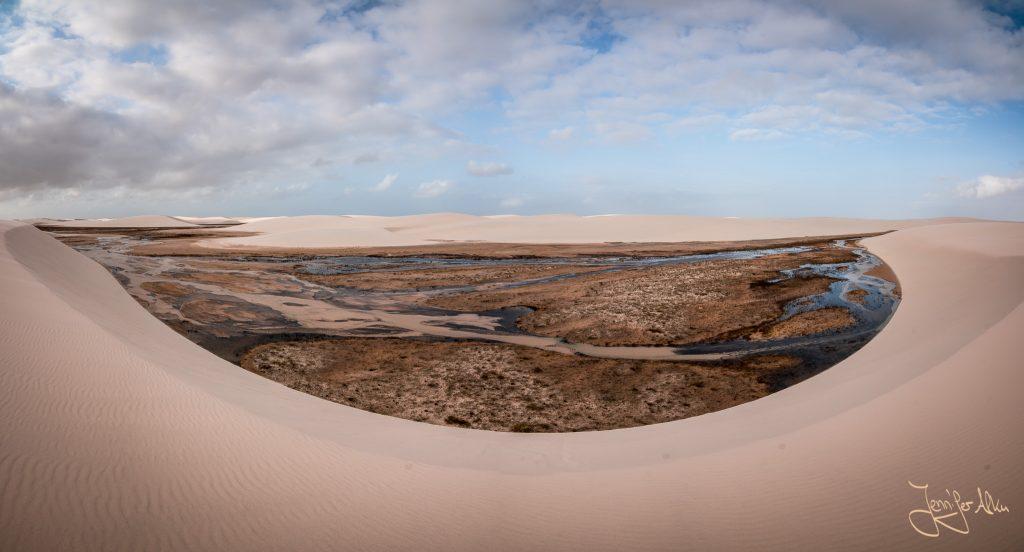 Atemberaubende Aussicht - Lençóis Maranhenses in Brasilien