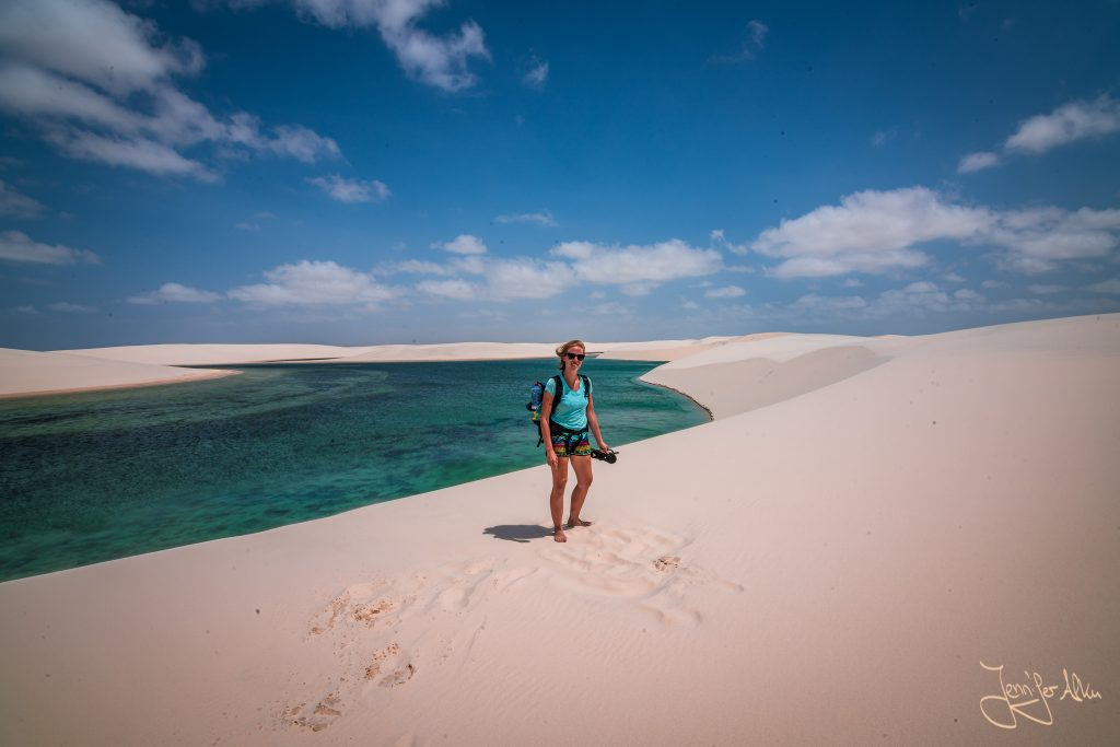 Traumhafte Aussicht - Lençóis Maranhenses in Brasilien