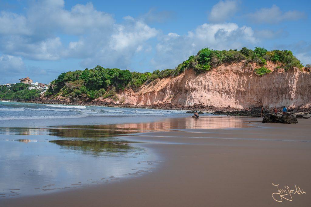 Strand Praia de Cotovelo in der Nähe von Natal / Brasilien