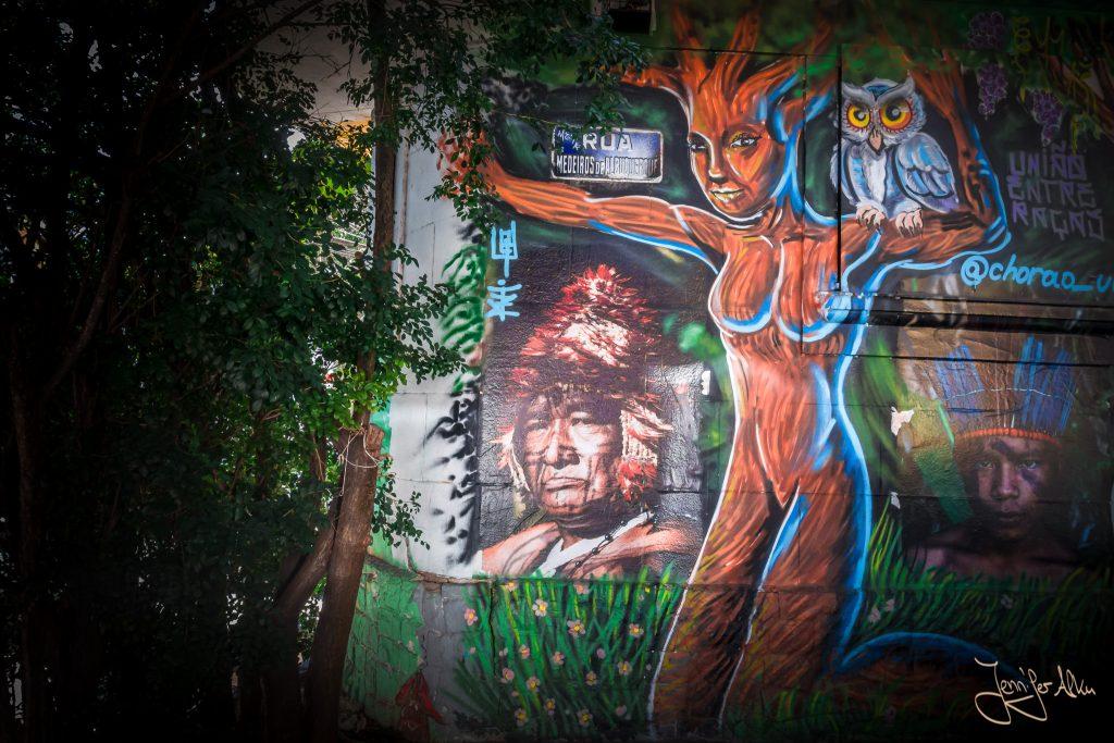 Streetart in Sao Paulo - Beco do Batman / Brasilien