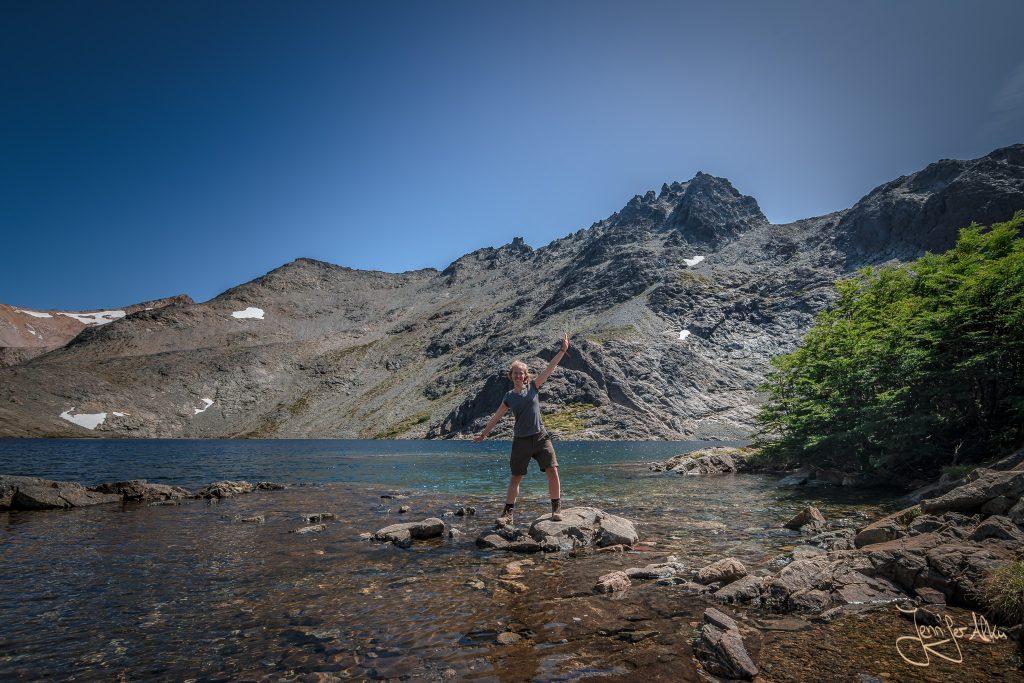 Laguna Negra in der Nähe von Bariloche