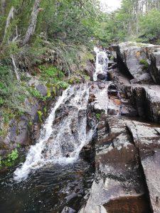 Wasserfall kurz vor der Laguna CAB