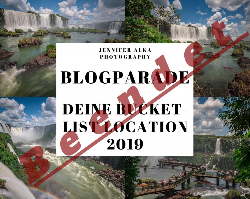 Blogparade - Deine Bucket-List-Location 2019 beendet