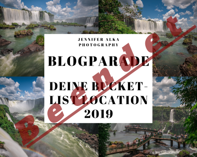 Blogparade - Deine Bucket-List-Location 2019 beendet