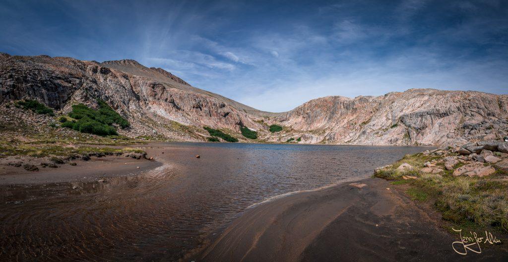 Panorama von der Laguna Creton