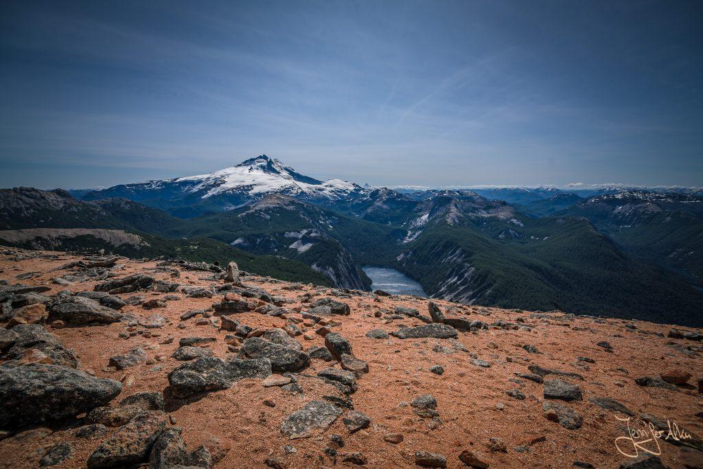 Blick vom Cerro Capitan auf den Cerro Tronador