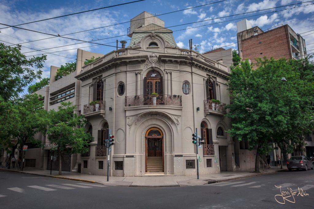 Historisches Gebäude in Rosario / Argentinien