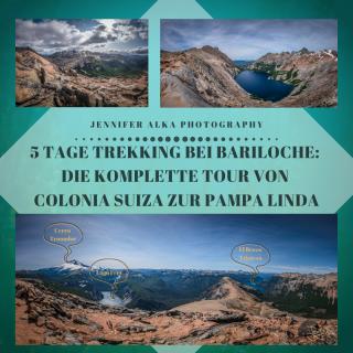 5 Tage Trekking bei Bariloche: Die komplette Tour von Colonia Suiza zur Pampa Linda
