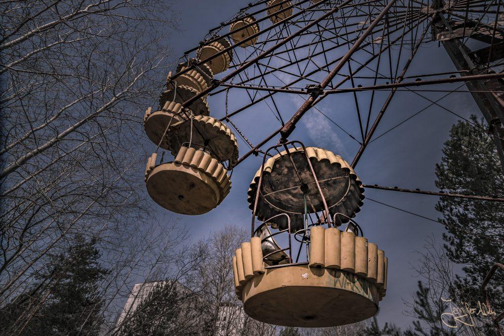 Verlassener Freizeitpark von Tschernobyl - Das Riesenrad